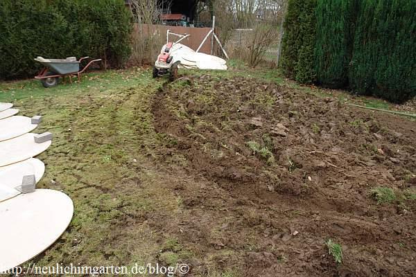 Ein Garten ohne Gewaechshaus ist kein richtiger Garten. Auch wir ...