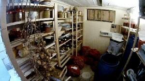 Lagerraum im Haus