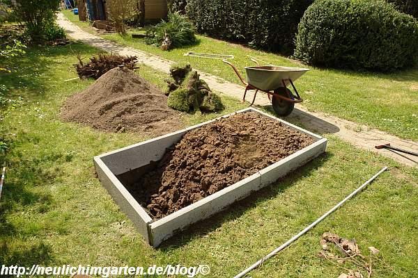 Häufig Wie lege ich ein Gemuesebeet auf einem Rasen an? Hier eine GT87