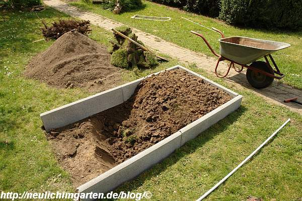 Außergewöhnlich Wie lege ich ein Gemuesebeet auf einem Rasen an? Hier eine #NQ_44