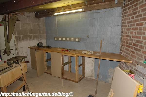 Arbeitsplatte Werkstatt